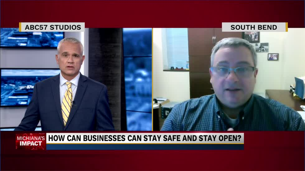 Dr. Fox discusses businesses staying open during the COVID-19...